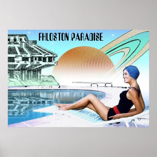 Fhloston Paradise ~ Interplanetary Travel Poster