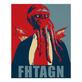Fhtagn Poster