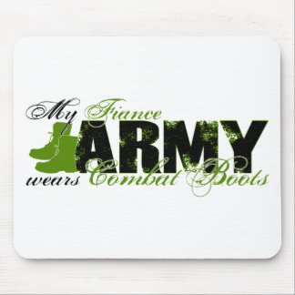 Fiance Combat Boots - ARMY Mouse Pad