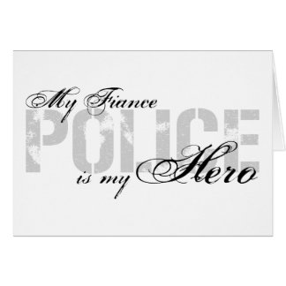 Fiance Is My Hero - POLICE Card