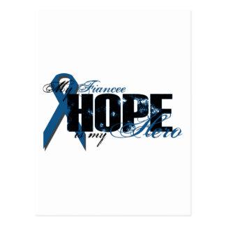 Fiancee My Hero - Colon Cancer Hope Postcard