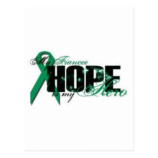Fiancee My Hero - Kidney Cancer Hope Postcard