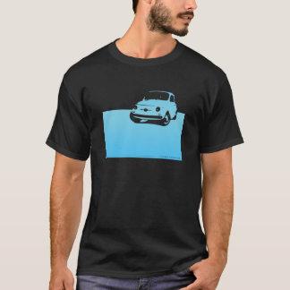 Fiat 500, 1959 - Lt blue on dark shirts