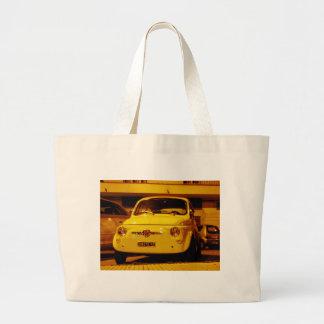 Fiat 500 Abarth. Canvas Bag
