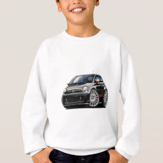Fiat 500 Abarth Black Car Sweatshirt