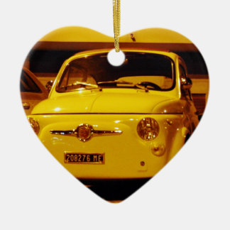 Fiat 500 Abarth. Christmas Ornament