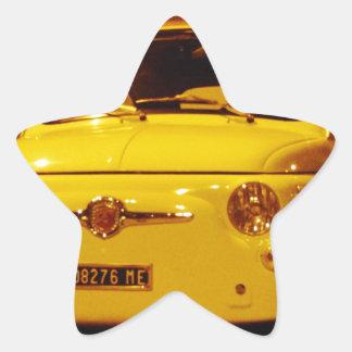 Fiat 500 Abarth. Star Sticker