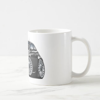 Fiat 500 Black Car Coffee Mug