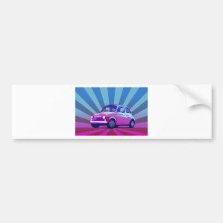 Fiat 500 Bunt Bumper Sticker