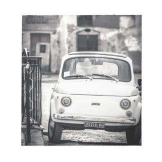 Fiat 500, Cinquecento in Italy Notepad