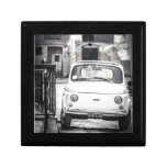 Fiat 500, Cinquecento in Italy Small Square Gift Box