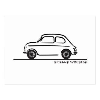 Fiat 500 Cinquecento Postcard