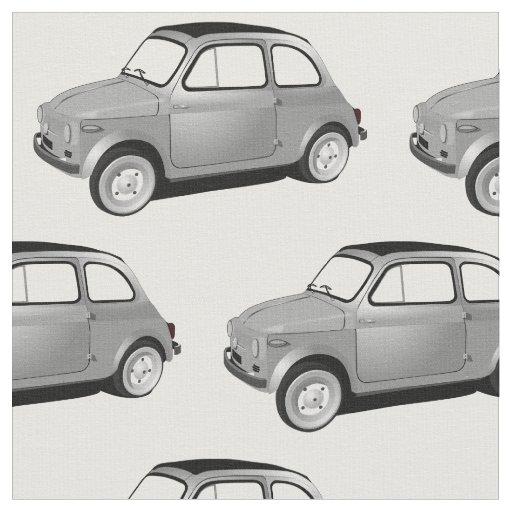 Fiat 500 Classic Car Fabric