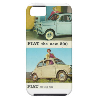 Fiat 500 classic car vintage retro iphone 5 case