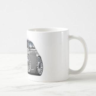 Fiat 500 Grey Car Basic White Mug