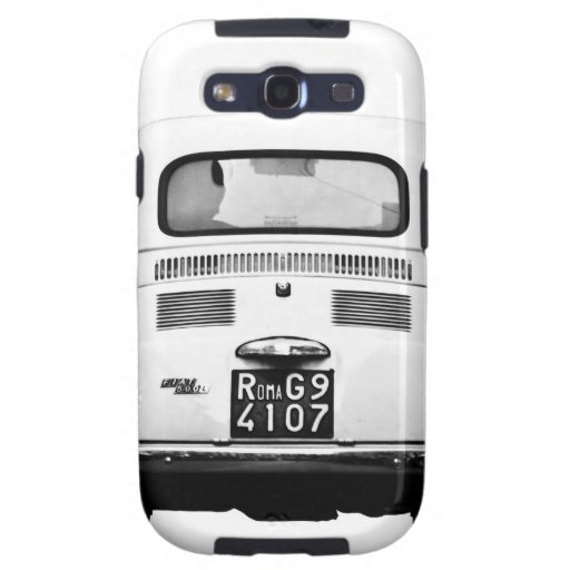 Fiat 500 in Rome, Italy. Samsung Galaxy SIII Cases