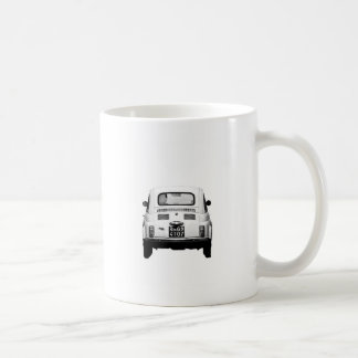 Fiat 500 in Rome, Italy. Coffee Mug