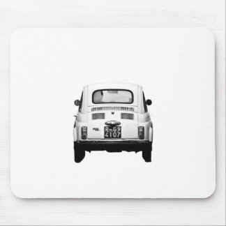 Fiat 500 in Rome, Italy. Mouse Pad