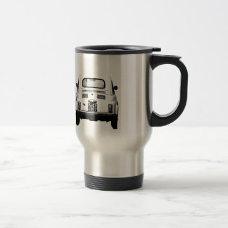 Fiat 500 in Rome, Italy. Stainless Steel Travel Mug