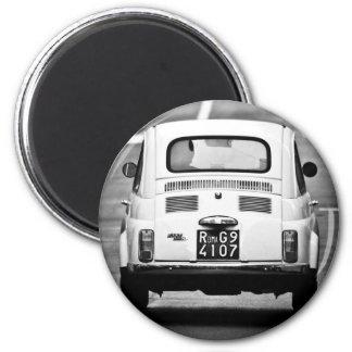 Fiat 500 in Rome Magnet