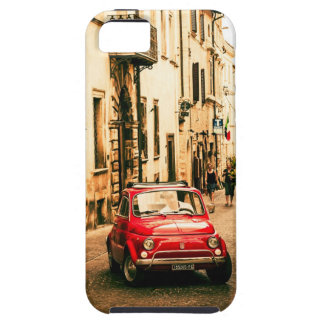 Fiat 500 red, Cinquecento in Italy Iphone 5 case