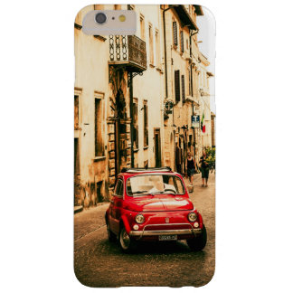 Fiat 500 Red in Italy, Tuscany Iphone 6+ case, Barely There iPhone 6 Plus Case