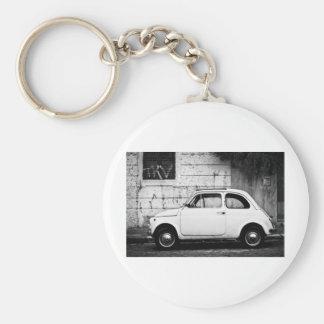 Fiat 500 Rome, Italy Key Ring