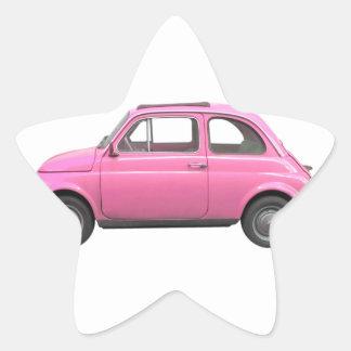 Fiat 500 star sticker