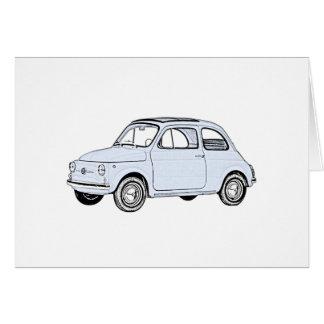 Fiat 500 Topolino Card