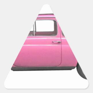 Fiat 500 triangle sticker