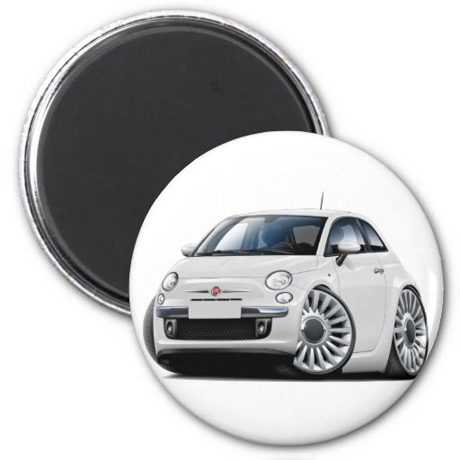 Custom round car magnets no minimum