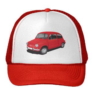 Fiat 600 (Seicento) red cap