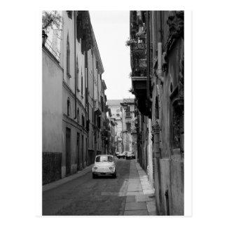 Fiat Cinquecento in Verona Postcard