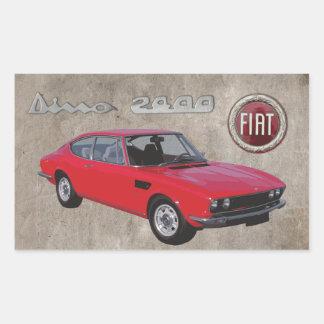 FIAT DINO 2400 STICKER