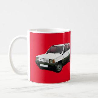 Fiat Panda 30 / 45 red Coffee Mug