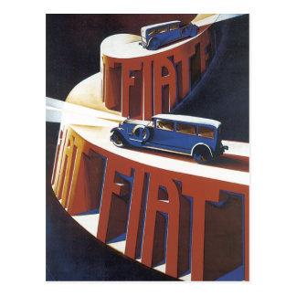 Fiat Postcard