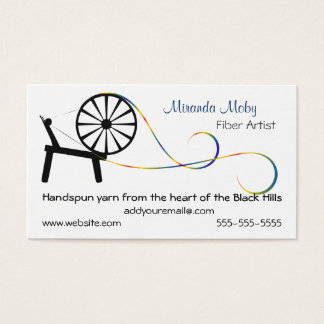Fiber Art Business Card or Hang Tag