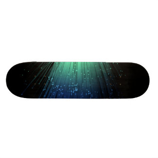 Fiber optic abstract. 19.7 cm skateboard deck