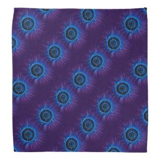 Fiber optic abstract. bandana