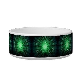 Fiber optic abstract. bowl