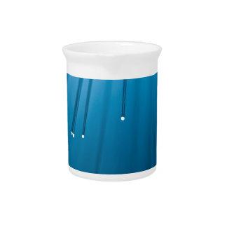 Fiber optic abstract. pitcher