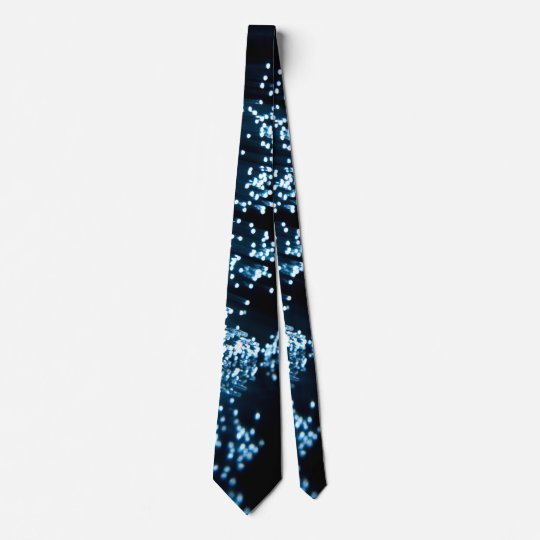 Fiber optic abstract. tie