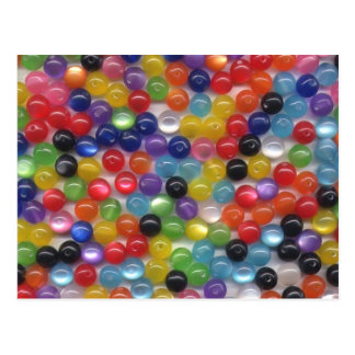 Fiber Optic Beads Post Cards