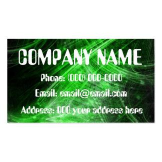 fiber optic business card