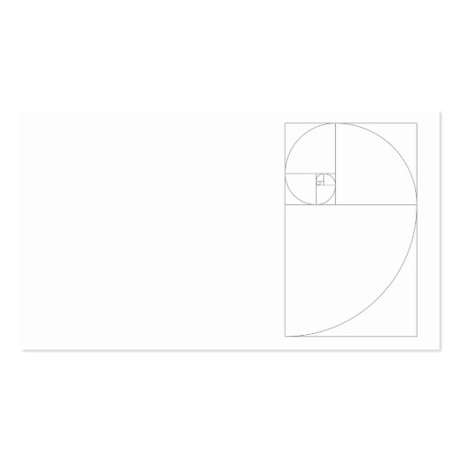 Collections of golden ratio business cards fibonacciblocks business card template colourmoves Images
