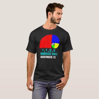 Fibonacci Day, 1,1,2,3, November, 23 T-Shirt
