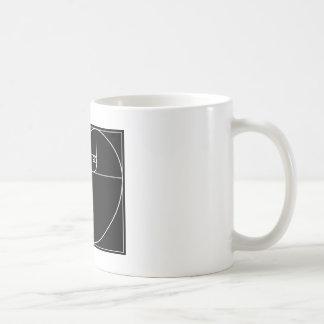 Fibonacci Heart Basic White Mug