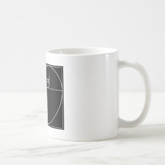 Fibonacci Heart Classic White Coffee Mug