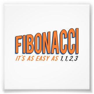 Fibonacci It's as Easy as 1, 1, 2, 3 Photograph