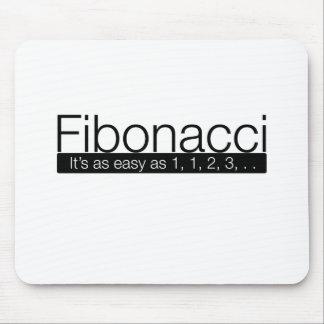 Fibonacci - it's as easy as 1, 2, 3, . . mouse pad